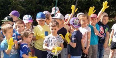 Przedszkolaki dbają o Ziemię