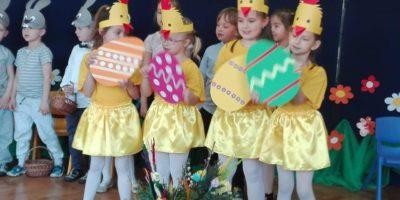 Wielkanocny zajączek w przedszkolu
