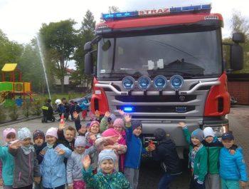Witamy dzielnych strażaków